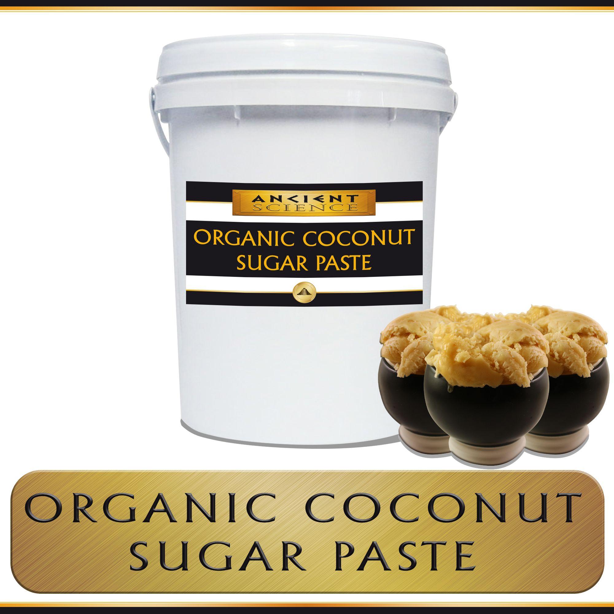 Coconut Blossom Sugar Paste